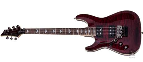 SCHECTER Omen Extreme-6 FR LH BCH Levoruká elektrická kytara