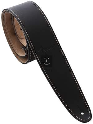 FENDER Ball Glove Leather Strap, Black Kytarový popruh