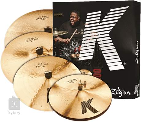 ZILDJIAN K Custom Dark Box Set Činelová sada
