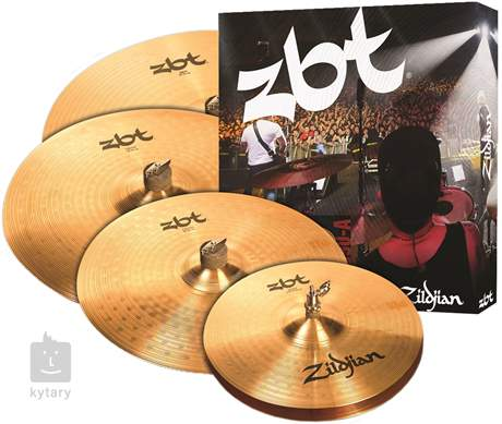 "ZILDJIAN ZBT 5 box set + 18"" Crash Činelová sada"