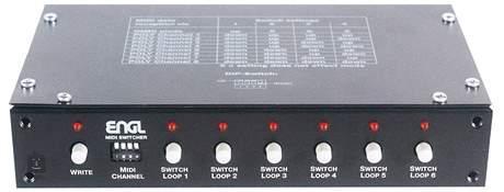 ENGL Z-11 Midi Switcher MIDI přepínač