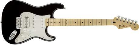 FENDER Standard Stratocaster HSS MN BK Elektrická kytara