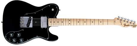 FENDER 72 Telecaster Custom MN BK Elektrická kytara