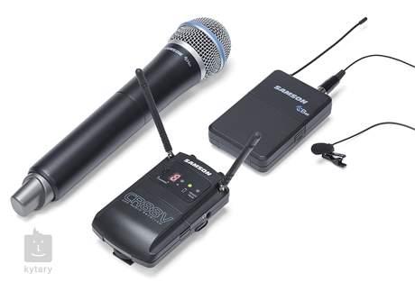 SAMSON Concert 88 Camera Combo L Bezdrátový reportážní set s mikrofonem