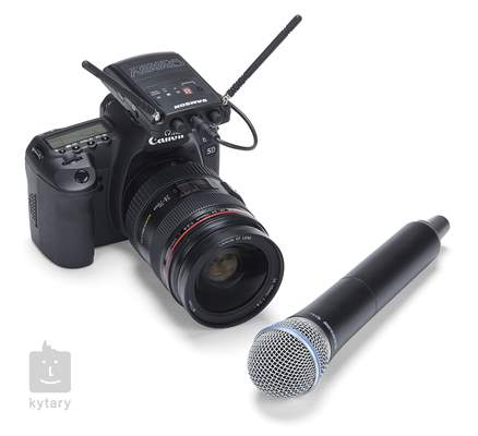 SAMSON Concert 88 Camera Handheld K Bezdrátový reportážní set s mikrofonem