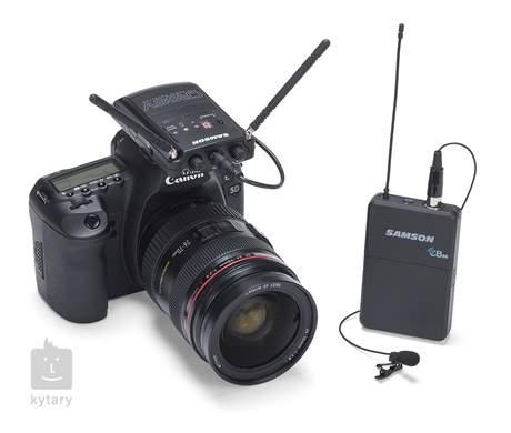 SAMSON Concert 88 Camera Lavalier F Bezdrátový reportážní set s mikrofonem