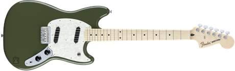 FENDER Mustang MN OL Elektrická kytara