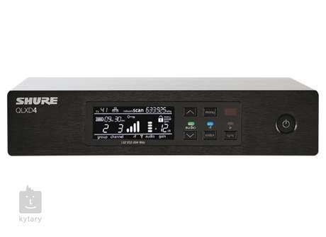 SHURE QLXD24E/K8B K51 Vokální bezdrátový set