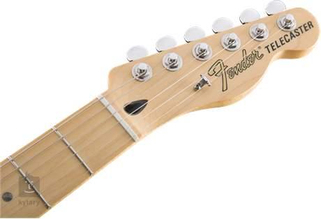 FENDER Deluxe Telecaster Thinline MN CAR Elektrická kytara