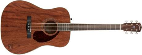 FENDER PM-1 Standard Dreadnought MAH Akustická kytara