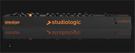 STUDIOLOGIC Sledge Black Edition Syntezátor