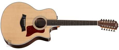 TAYLOR 456ce-R (rozbalené) Dvanáctistrunná elektroakustická kytara
