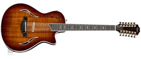 TAYLOR T5z Custom 12 Dvanáctistrunná elektroakustická hybridní kytara