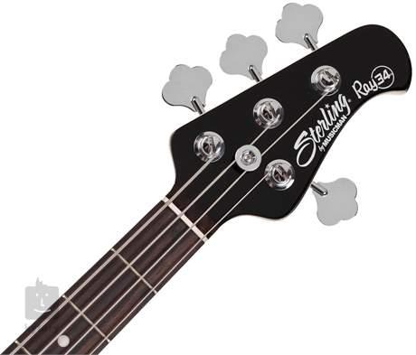 STERLING BY MUSIC MAN RAY34 Black Elektrická baskytara
