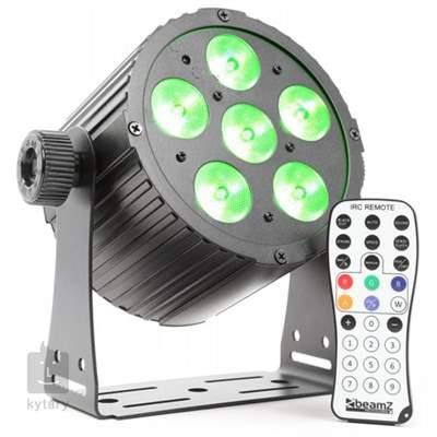 BEAMZ LED FlatPAR 6x18W HCL Led reflektor