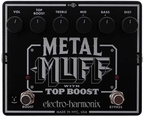 ELECTRO-HARMONIX Metal Muff Kytarový efekt