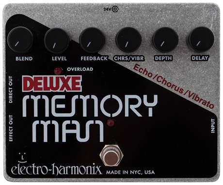 ELECTRO HARMONIX Deluxe Memory Man XO Kytarový efekt