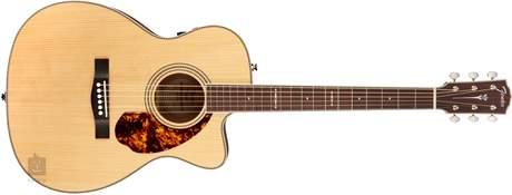 FENDER PM-3 Limited Adirondack Mahogany NAT Elektroakustická kytara