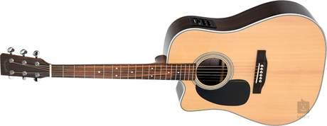 SIGMA GUITARS DRC-28EL Levoruká elektroakustická kytara