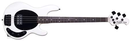 STERLING BY MUSIC MAN Ray 34 Pearl White 4 string Bass Elektrická baskytara