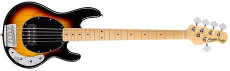 STERLING BY MUSIC MAN Ray 35 Classic 3 Tone Sunburst Elektrická baskytara