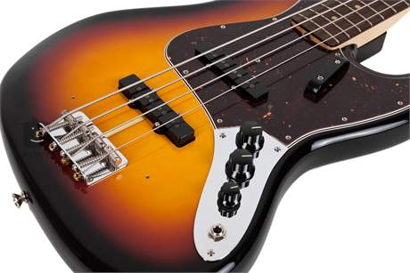 FENDER American Vintage 64 Jazz Bass RW 3CSB Elektrická baskytara