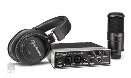 STEINBERG UR22MK2 Recording Pack Balíček pro domácí nahrávání