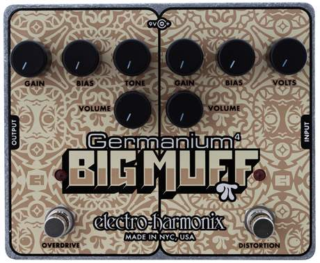 ELECTRO HARMONIX Germanium 4 Big Muff PI Kytarový efekt
