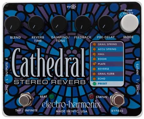 ELECTRO HARMONIX Cathedral Kytarový efekt