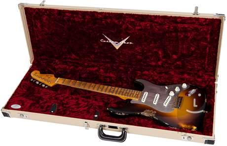 FENDER El Diablo Heavy Relic Stratocaster WF2CS Elektrická kytara