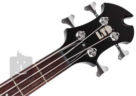ESP LTD AX-104 BK Elektrická baskytara