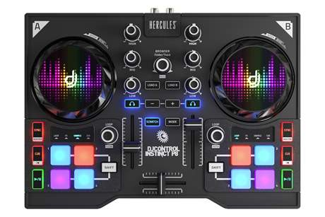 HERCULES DJ Control Instinct P8 DJ kontroler