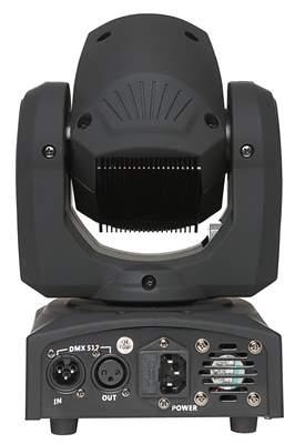 FRACTAL Mini LED Gobo Spot 10W Inteligentní hlava