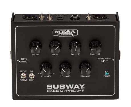 MESA BOOGIE Subway DI-Preamp Baskytarový předzesilovač a DI Box