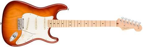 FENDER American Pro Stratocaster MN SSB ASH Elektrická kytara