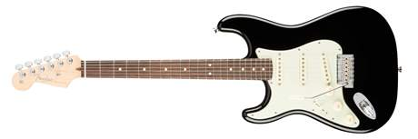 FENDER American Pro Stratocaster LH RW BK Levoruká elektrická kytara