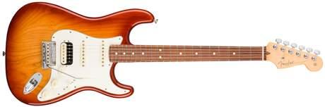 FENDER American Pro Stratocaster HSS Shawbuckers RW SSB ASH Elektrická kytara