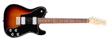 FENDER American Pro Telecaster DLX Shawbuckers RW 3TSB Elektrická kytara