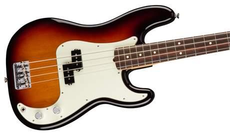 FENDER American Professional Precision Bass RW 3TS Elektrická baskytara