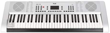 FOX 160 WH Klávesy bez dynamiky