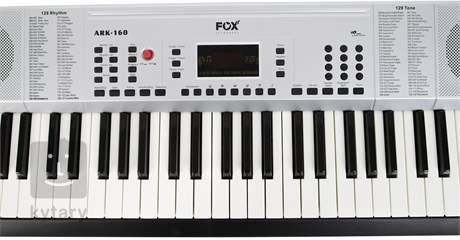 FOX 160 WH (rozbalené) Klávesy bez dynamiky