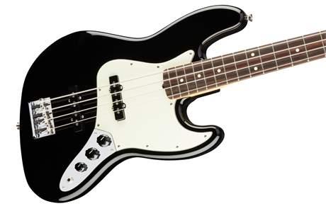 FENDER American Professional Jazz Bass RW BK Elektrická baskytara