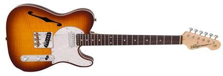VINTAGE V72FTB Elektrická kytara