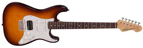VINTAGE V6HHFTB Elektrická kytara
