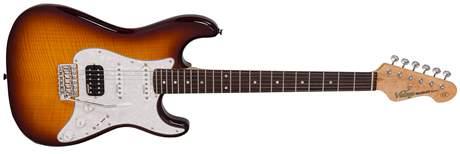 VINTAGE V6HFTB Elektrická kytara