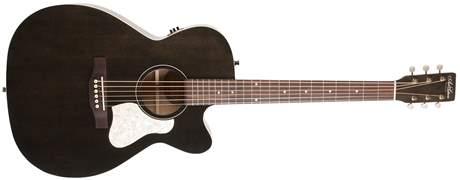 ART & LUTHERIE Legacy Faded Black CW QIT Elektroakustická kytara