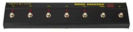 TECH21 MIDI Moose Midi přepínač