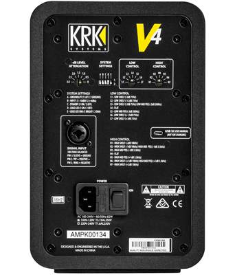 KRK V4S4 (rozbalené) Aktivní studiový monitor