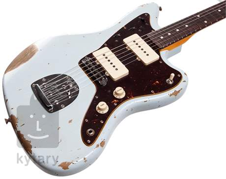 FENDER 62 Jazzmaster Heavy Relic RW SB Elektrická kytara