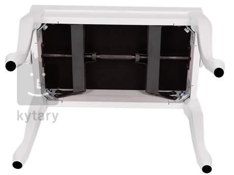 BESPECO SG107 WLSB Klavírní stolička